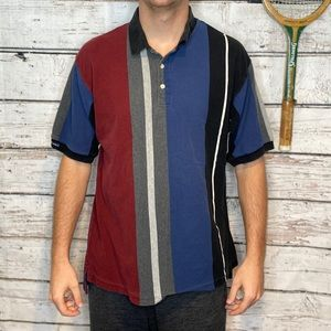 Chaps Ralph Lauren Vertical Striped Polo